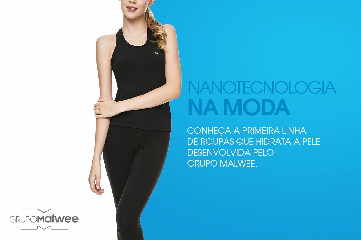 Grupo Malwee apresenta linha fitness com malha que hidrata a pele