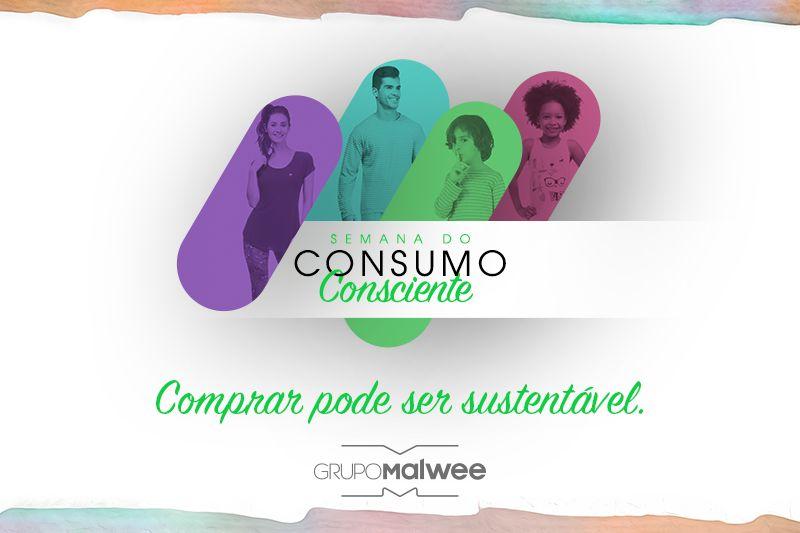 Dia do Consumo Consciente: comprar pode ser sustentável.