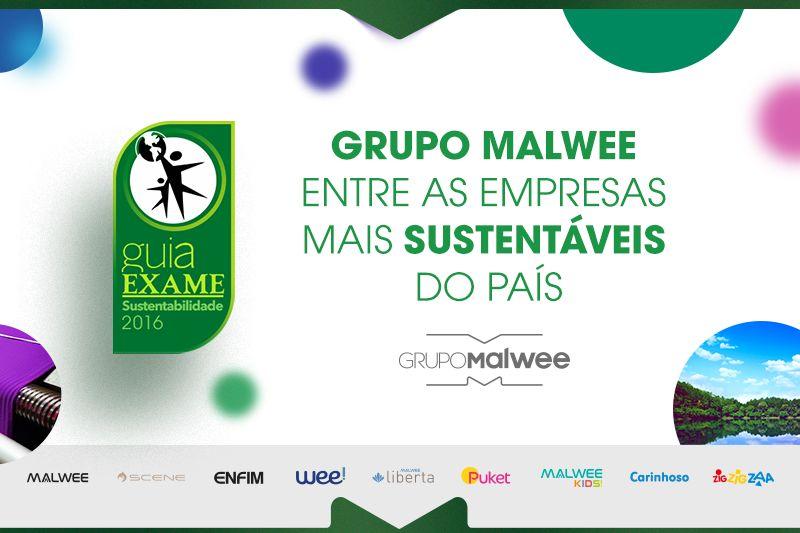 Grupo Malwee entre as empresas mais sustentáveis do país