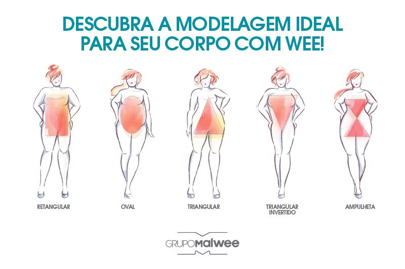 Descubra a modelagem ideal para o seu corpo
