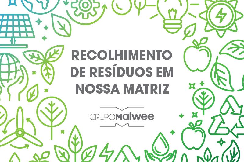 Os R's da Sustentabilidade em nossa moda: Recolhimento de resíduos em nossa matriz