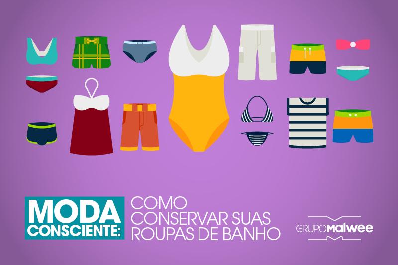 Moda Consciente: Como cuidar das roupas de banho para que elas durem mais