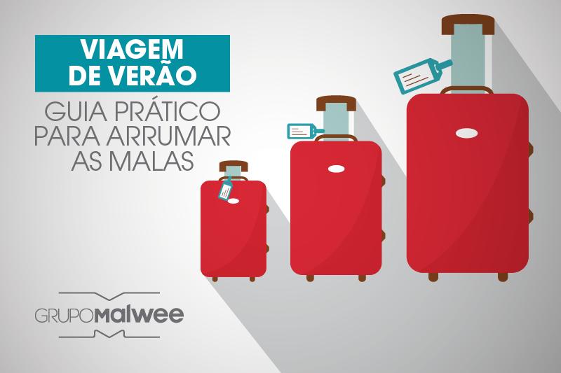 Viagem de verão: guia prático para arrumar as malas