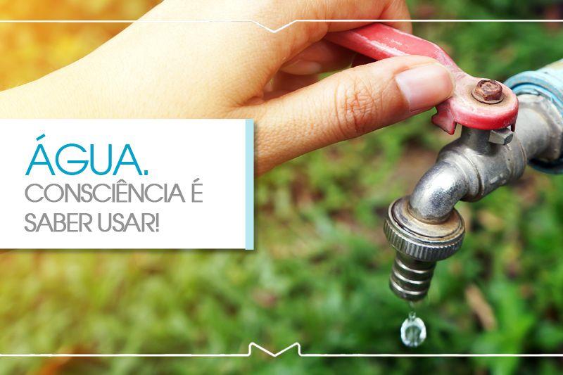Água. Décadas de uso consciente e milhões investidos na preservação!