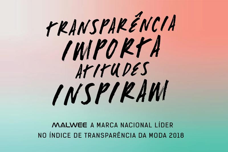 Malwee é a marca nacional líder no Índice de Transparência da Moda Brasil 2018
