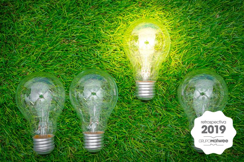 Retrospectiva 2019: O que fizemos para economizar energia?