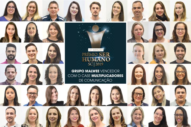 """Grupo Malwee ganha prêmio """"Ser Humano"""" pelo segundo ano consecutivo"""